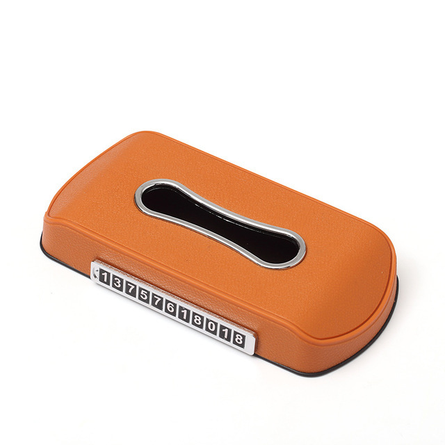 Elegant Car Tissue Box Holder for Car Supplies