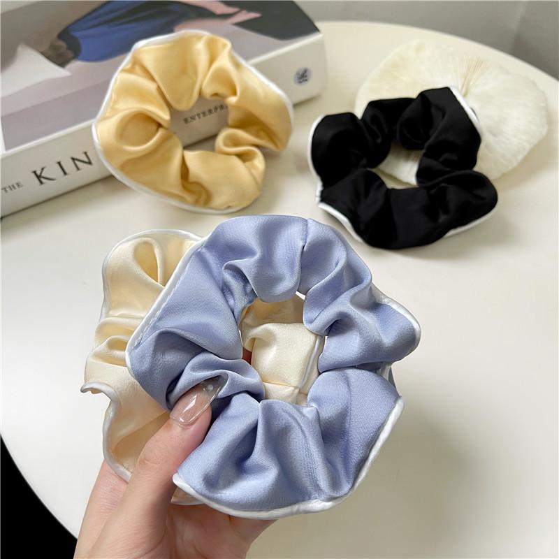 Embellished Silk Scrunchie for Ladies
