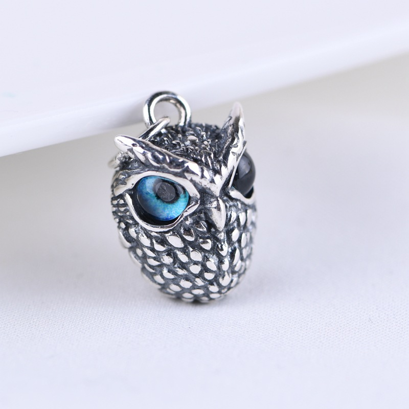 Blue Eyed Owl Ring for Comely Style