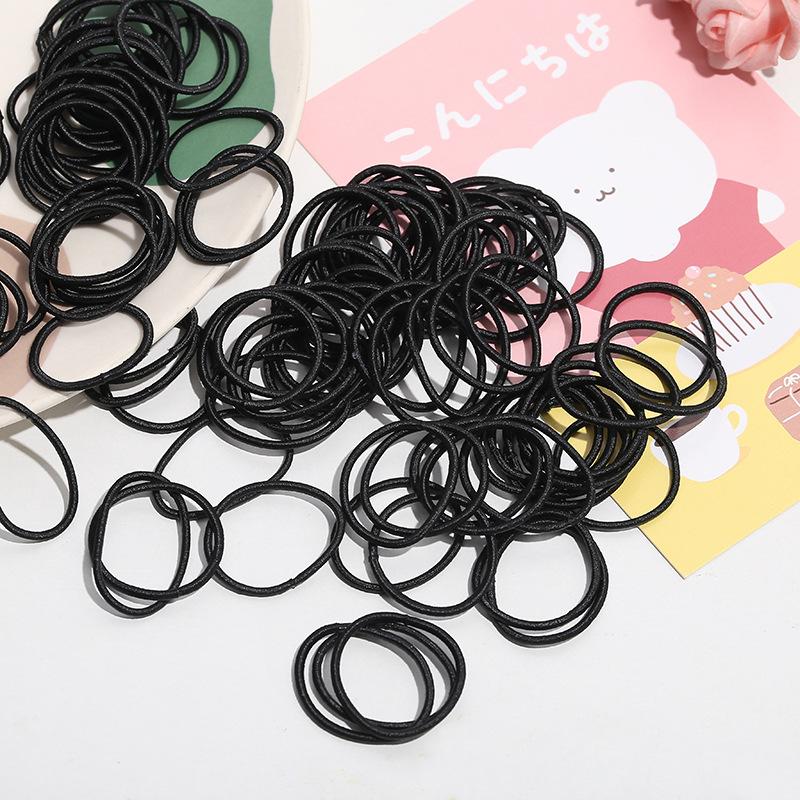 Simplistic Mini Rubber Head Ties For Children