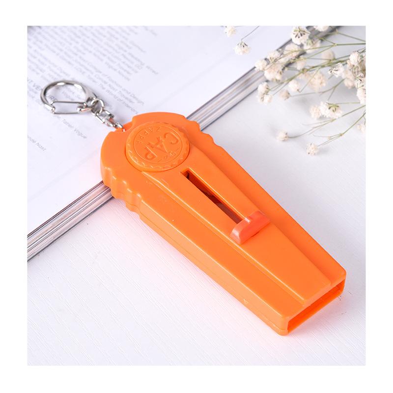 Handy Solid Color Bottle Cap Launcher for House Parties