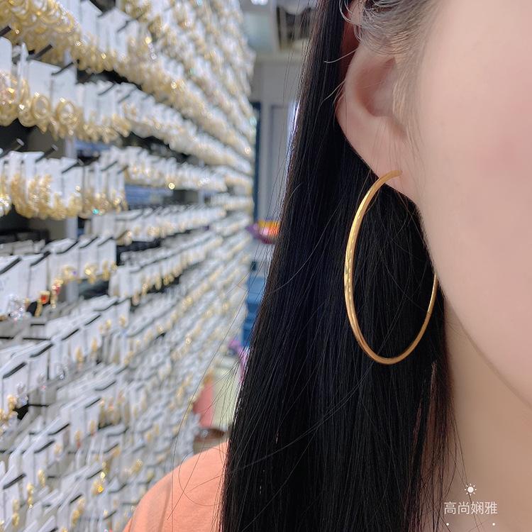Fashionable Big Hoop Earrings for Youthful Fashion Outfits