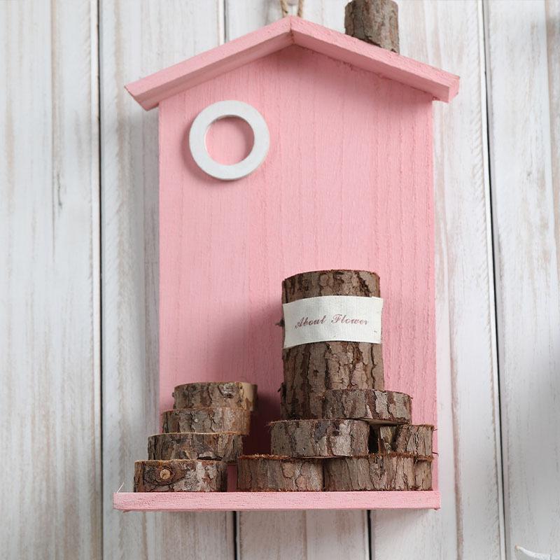Artificial Mini Logs Wall Décor for Kindergarten Rooms
