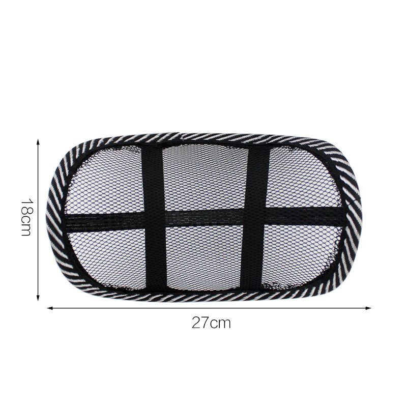 Functional Net Chair Head-Rest for Car Interiors