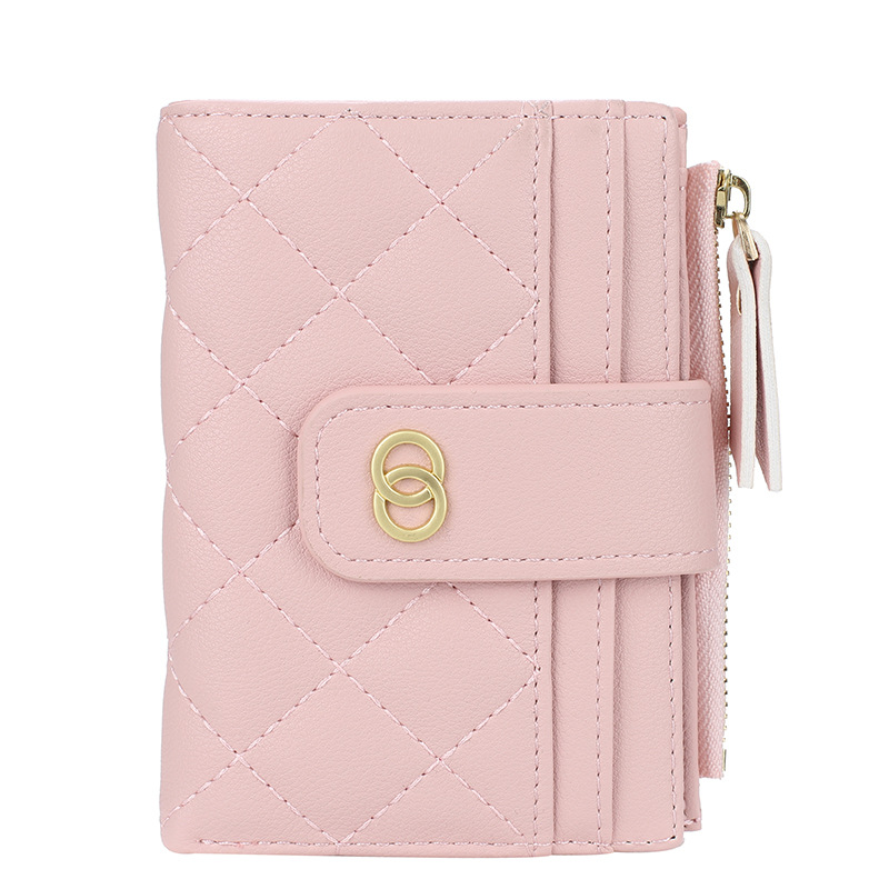 Leathery Texture Wallet with Card Holder Perfect for Gift