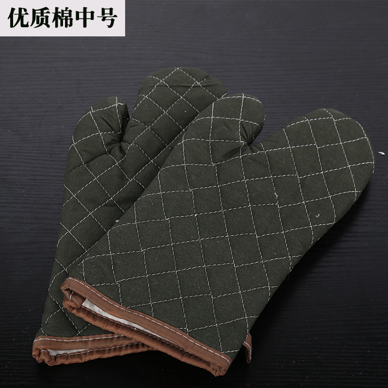 Thick Heat Resistant Oven Mittens for Baking