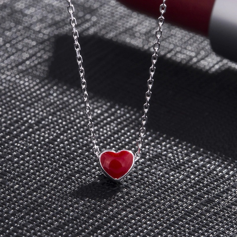 Dainty Heart-Shaped Necklace for Casual Looks