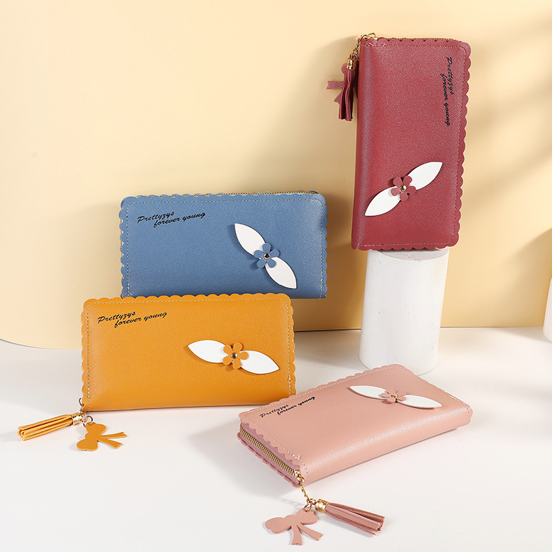 Unique and Chic Long Wallet for Daily Market Shopping