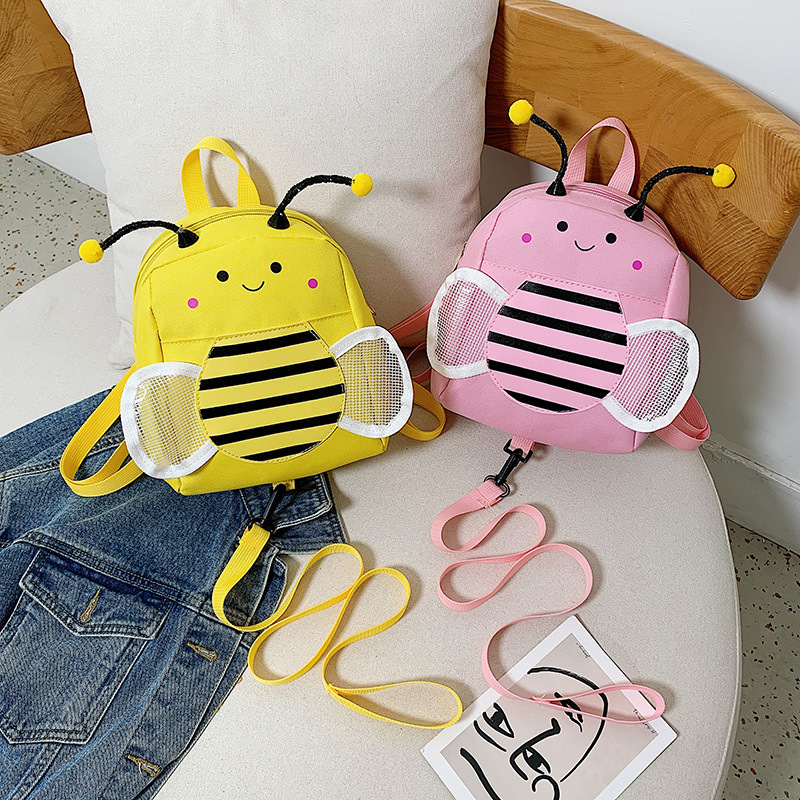 Buzzy Bee Anti-Lost Backpack with Child Leash for Traveling with Kids
