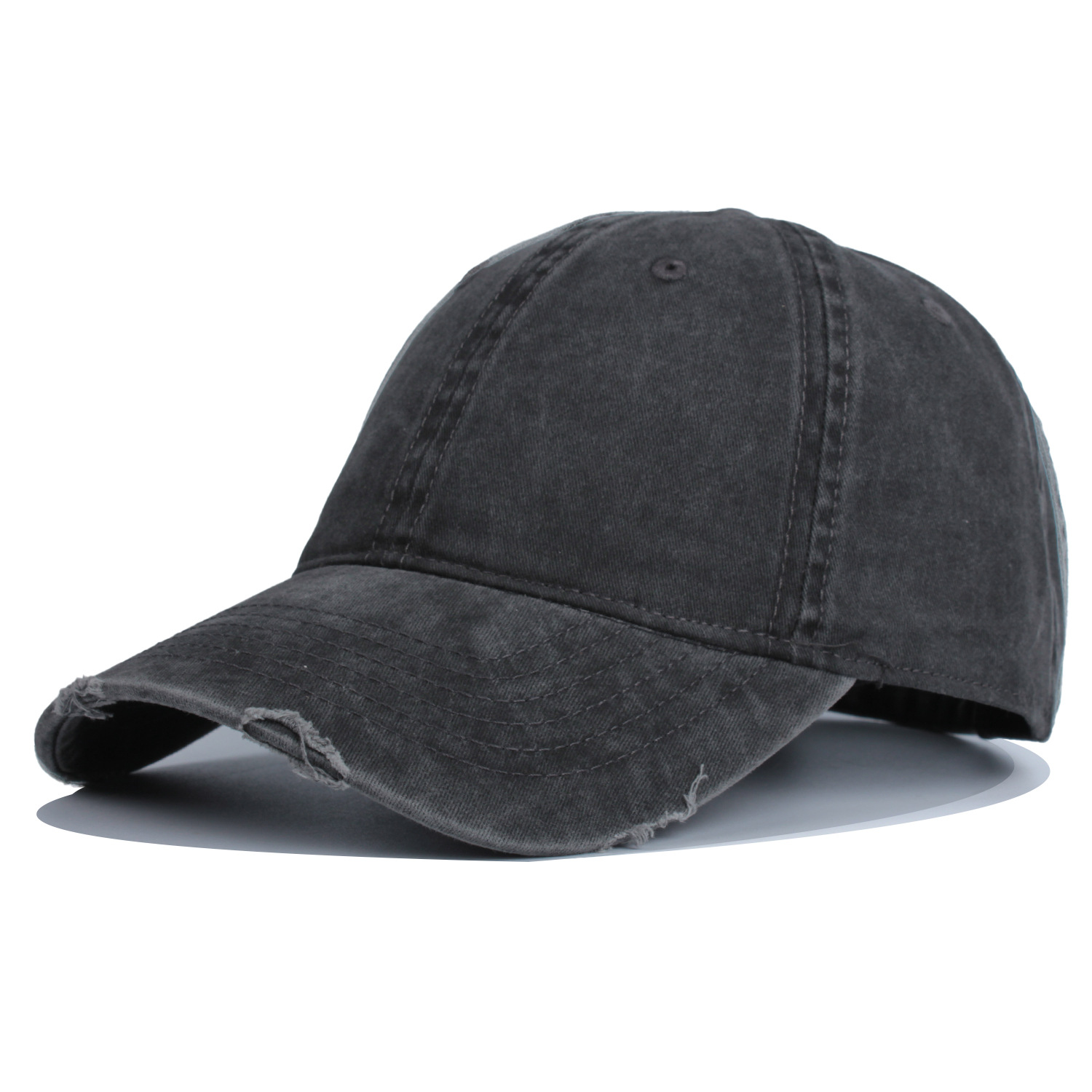 Splendid Sunscreen Cotton Curved-Brim Hat for Chill Hangouts