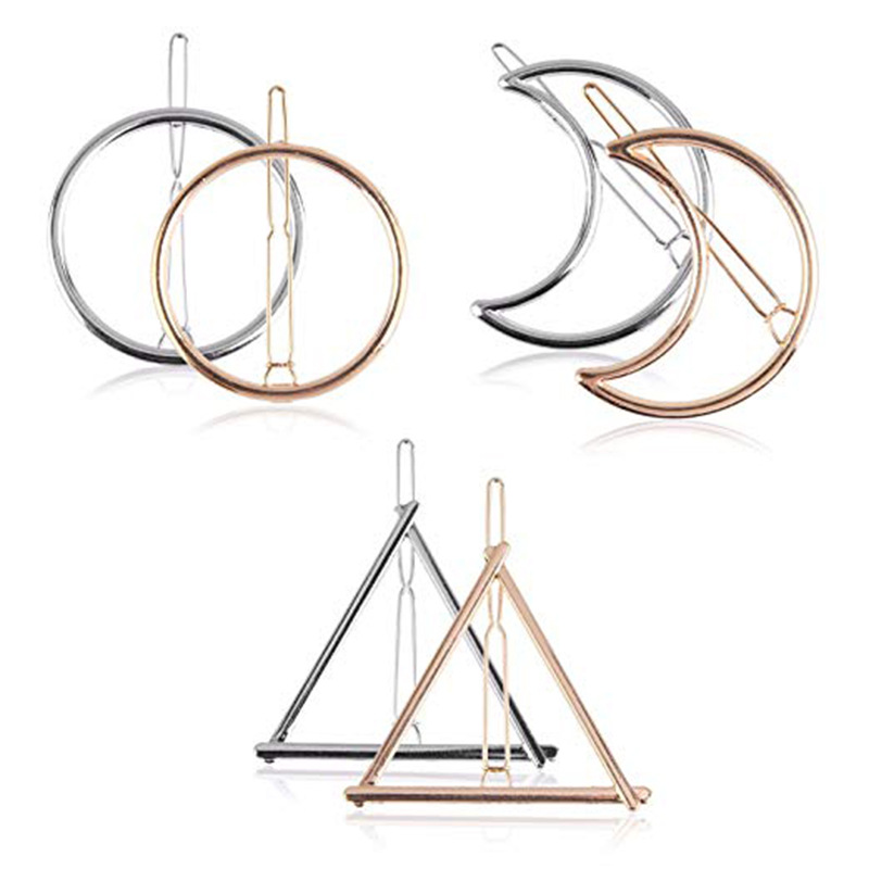 Fashionable Geometric Hair Clip for Styling Your Hair