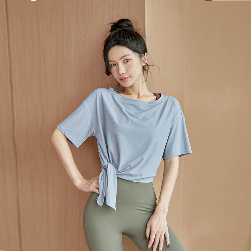 Comfortable Loose Fit Quick Dry Shirt for Gym Day