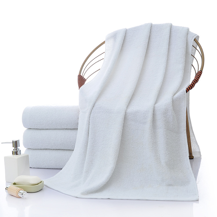 Super Absorbent Pure White Towel for Bathing