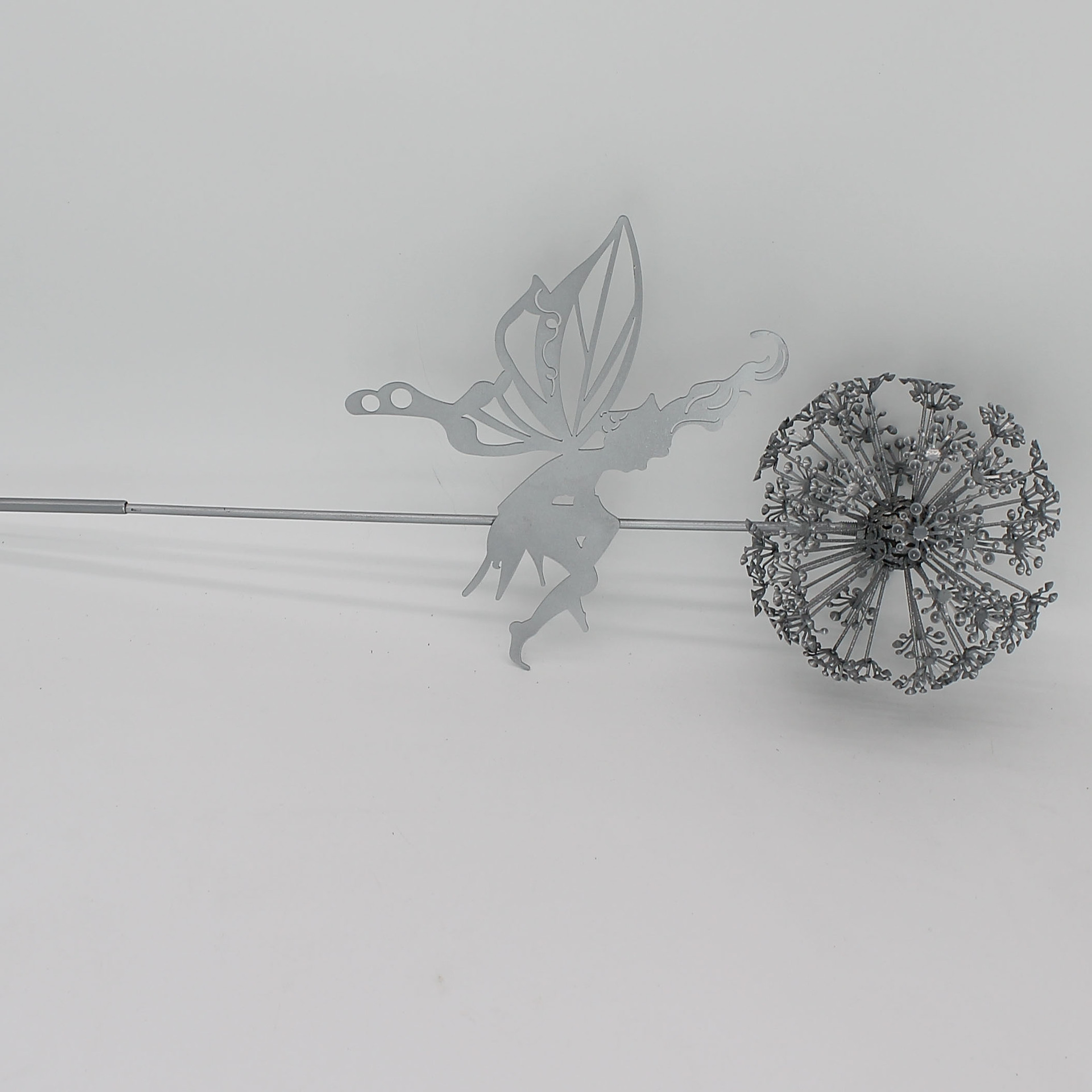 Solidified Dandelion with Fairy Decor for Lawn Ornaments
