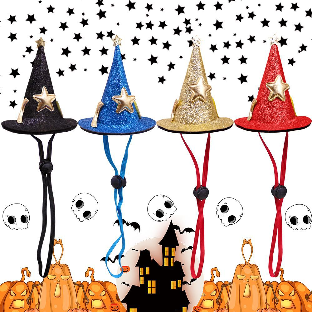 Cute Witch Pet Hat for Pet Halloween Costume