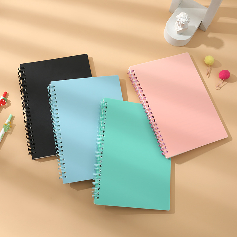 Modern-Style Single Color Notebooks for Bringing Your A-Game to School and Work