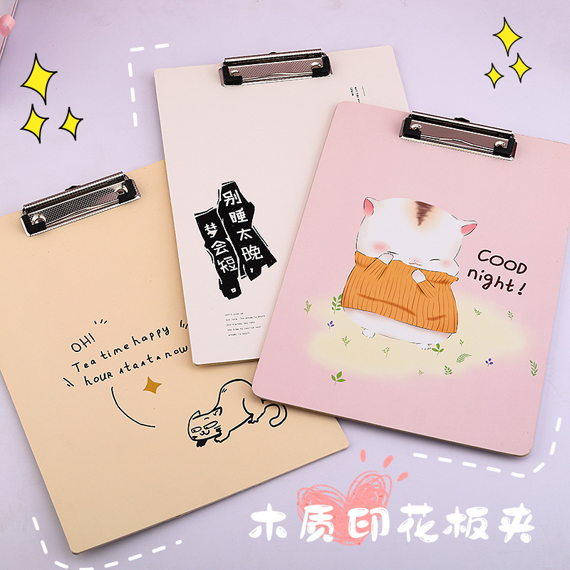 Charming Design Clipboard for Student and Office Supplies