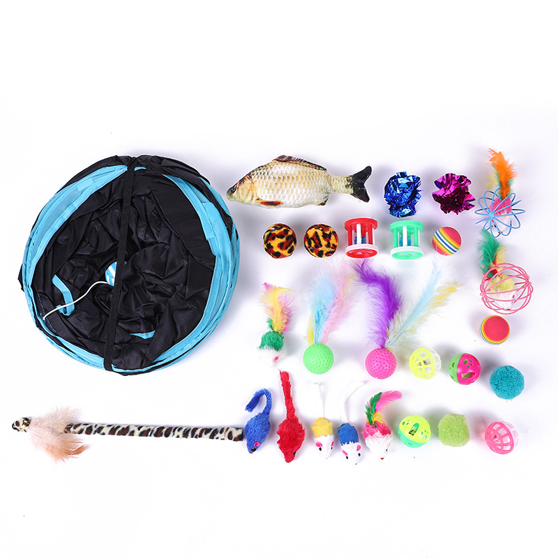 Exciting Three-Channel Pets Toys for Cats Boredom Relievers