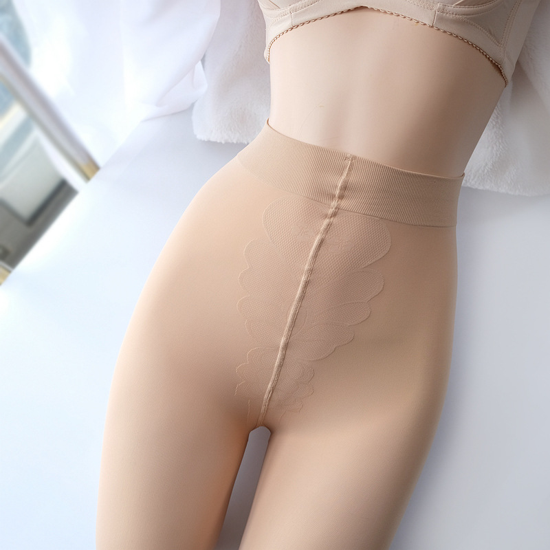 Flesh-Colored Breathable Thin Stockings for Everyday Leg Protection
