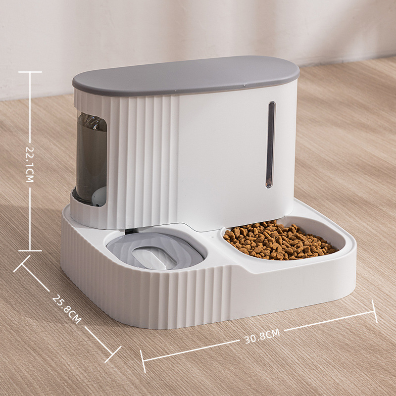 Automatic Food and Water Dispensing Pet Bowl for Pet Feeding Supplies