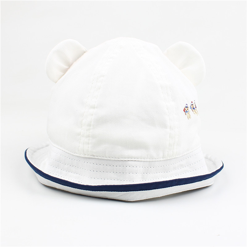 Cool Children's Bucket Hat with Mini Dog Designs for Winter Wear
