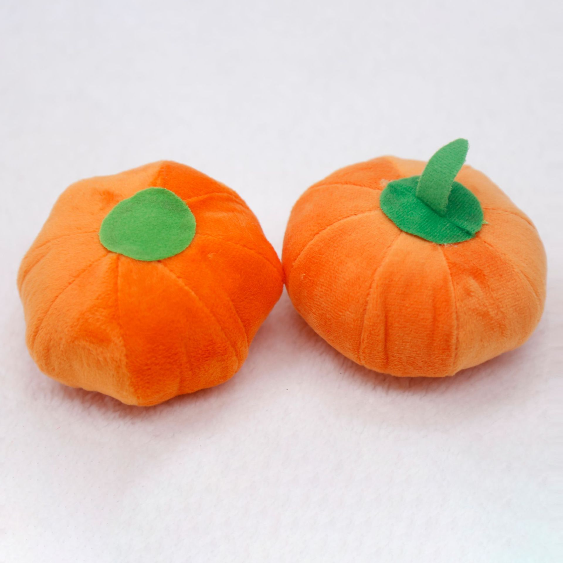 Exciting Sounding Pumpkin Plush Toys for Pets Fun Supplies