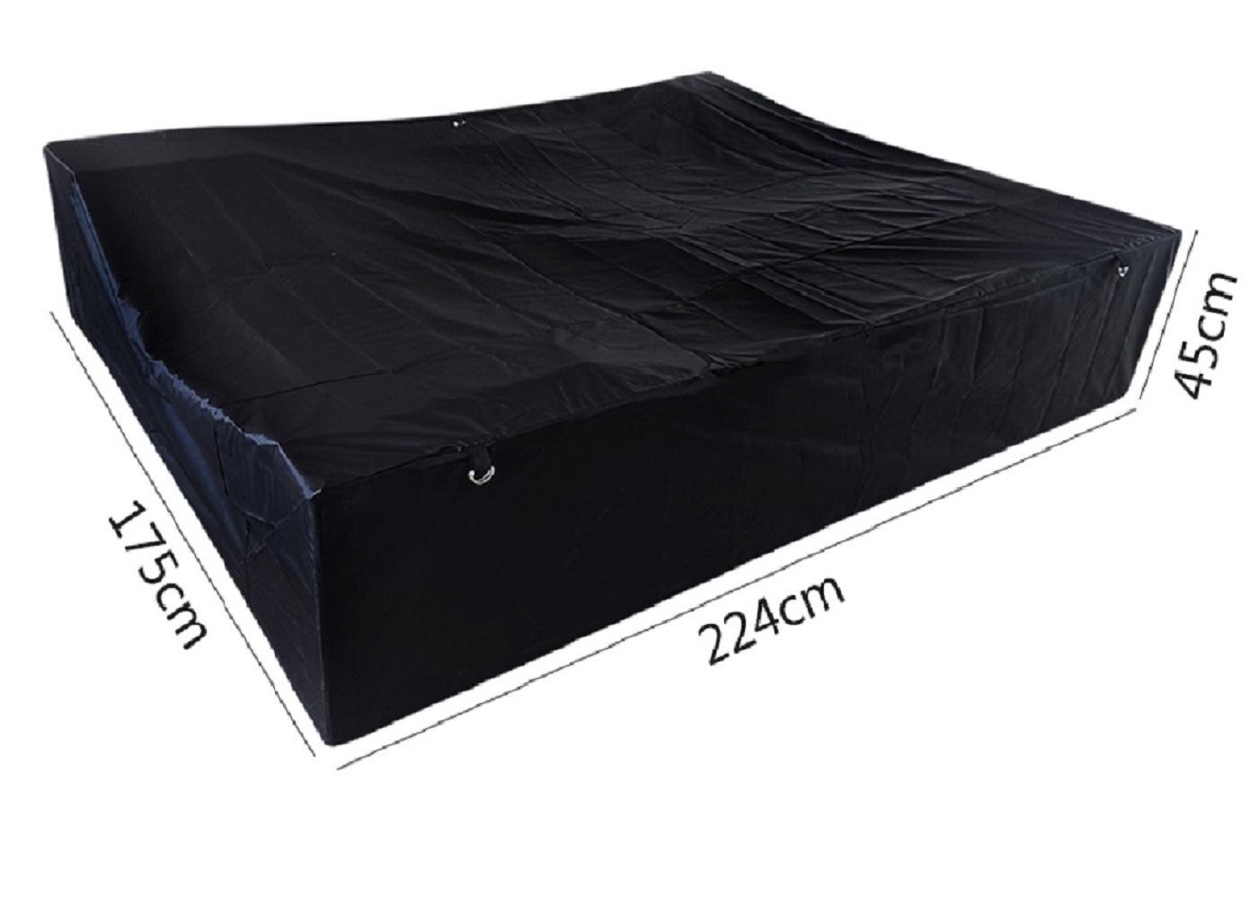 Black Hue Vehicle Cover for Waterproof and Dustproof