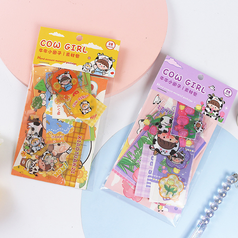 Adorable Sticker Set for Cute Journalling