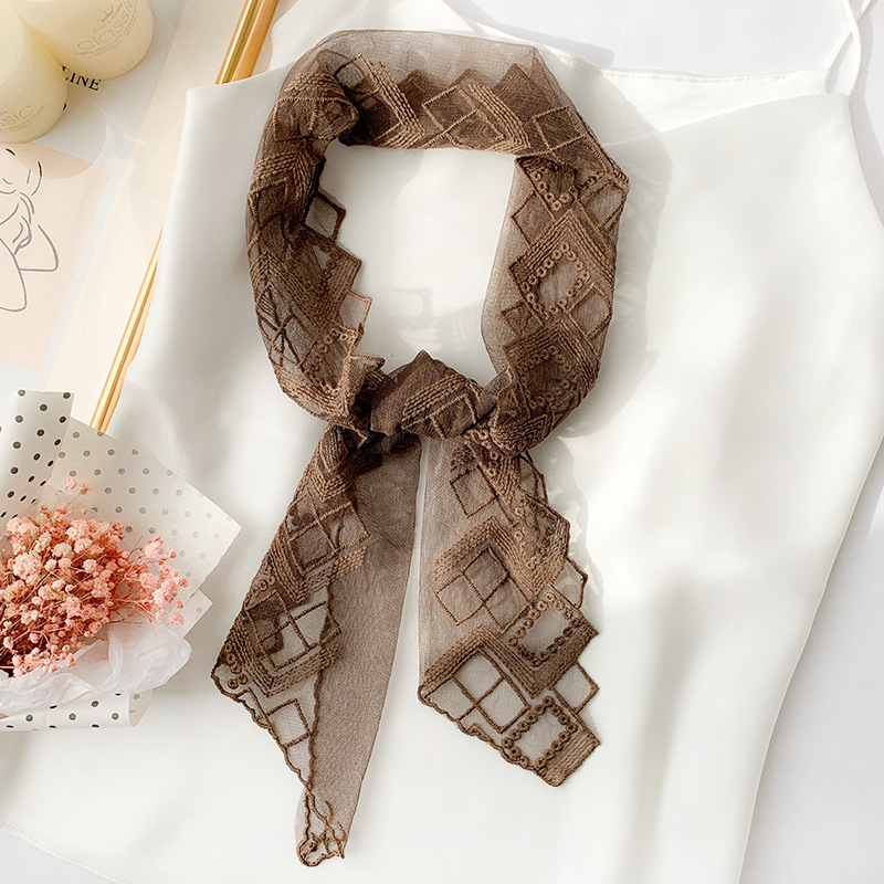 Appealing Silk Neck Scarf for Adding Elegance to Outfits