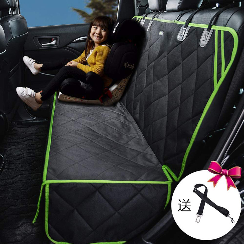 Durable Water-Repellent Car Seat Mats for Car Travels with Pets