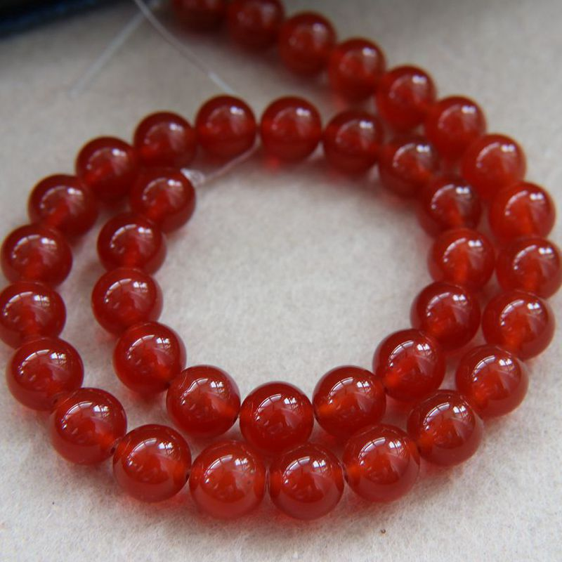 Fancy Red Sandalwood Beads for Handcraft Accessories