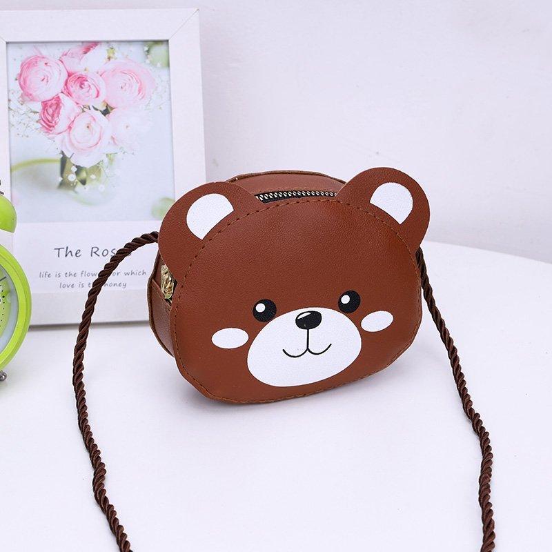 Adorable Animal Designed Sling Bag for Kids