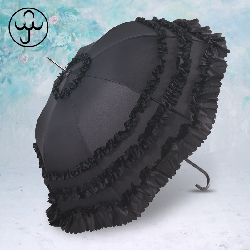 Classic and Fancy Umbrella for Ladies' Summer Sun Protection