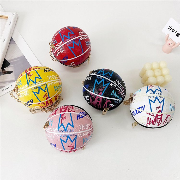 Round Ball Sling Wallet for Kids and Kids at Heart