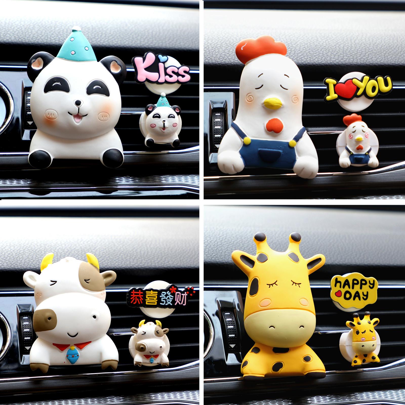 Creative Car Aircon Decoration for Gift Ideas
