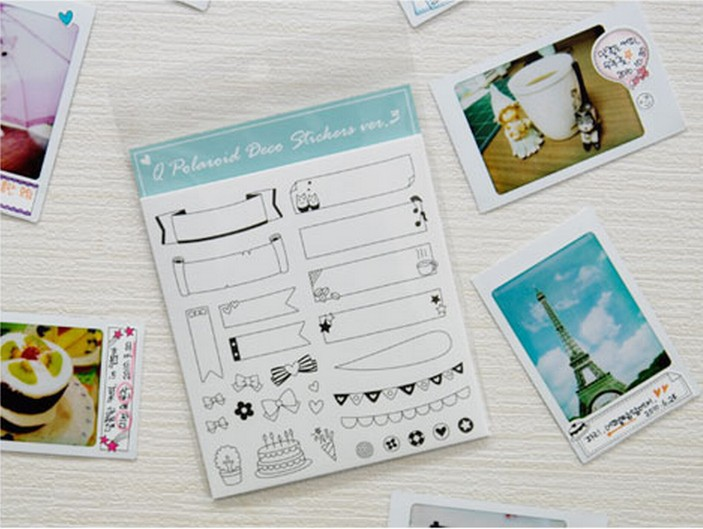 Korean-Inspired Cute Decorative Stickers for Bullet Journals