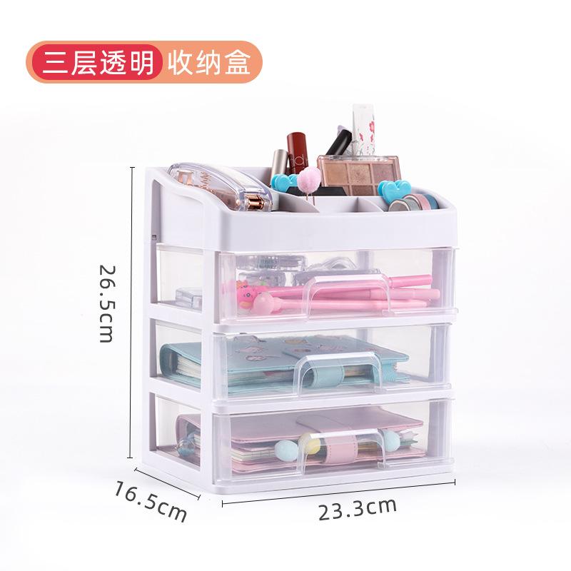 Minimalist Multifunctional Stationery Storage Box for Desktop Organizer