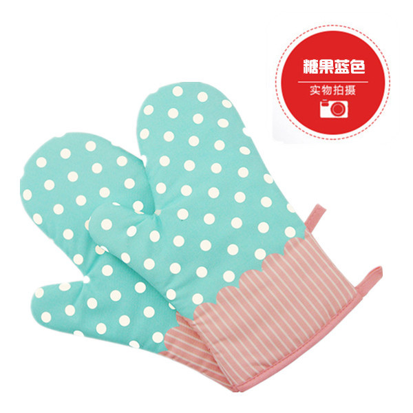 Cute and Decorative Kitchen Gloves for Heat Protection