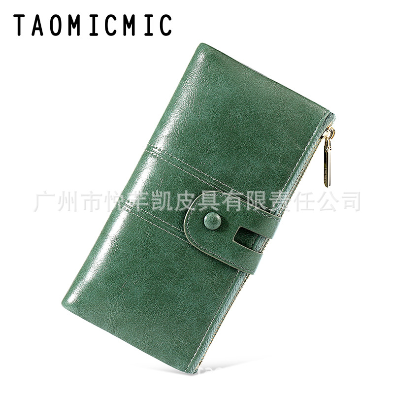 Stunning Faux Leather Long Wallet for Everyday Use