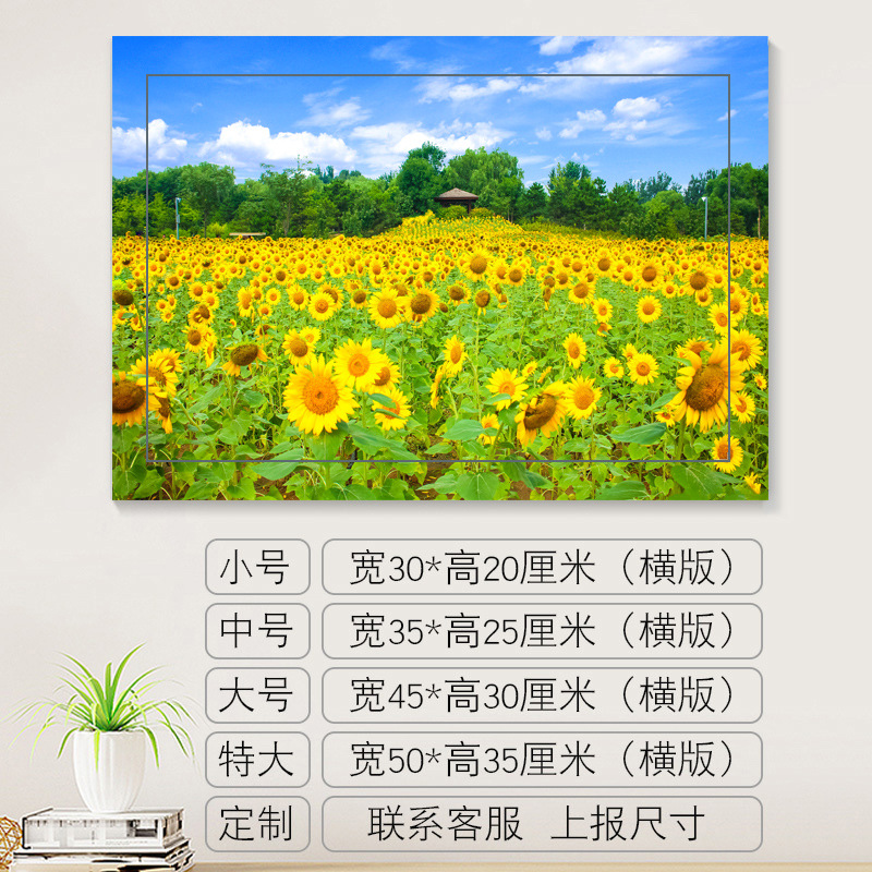Picturesque Ecological Print Wall Art for Home Decorations