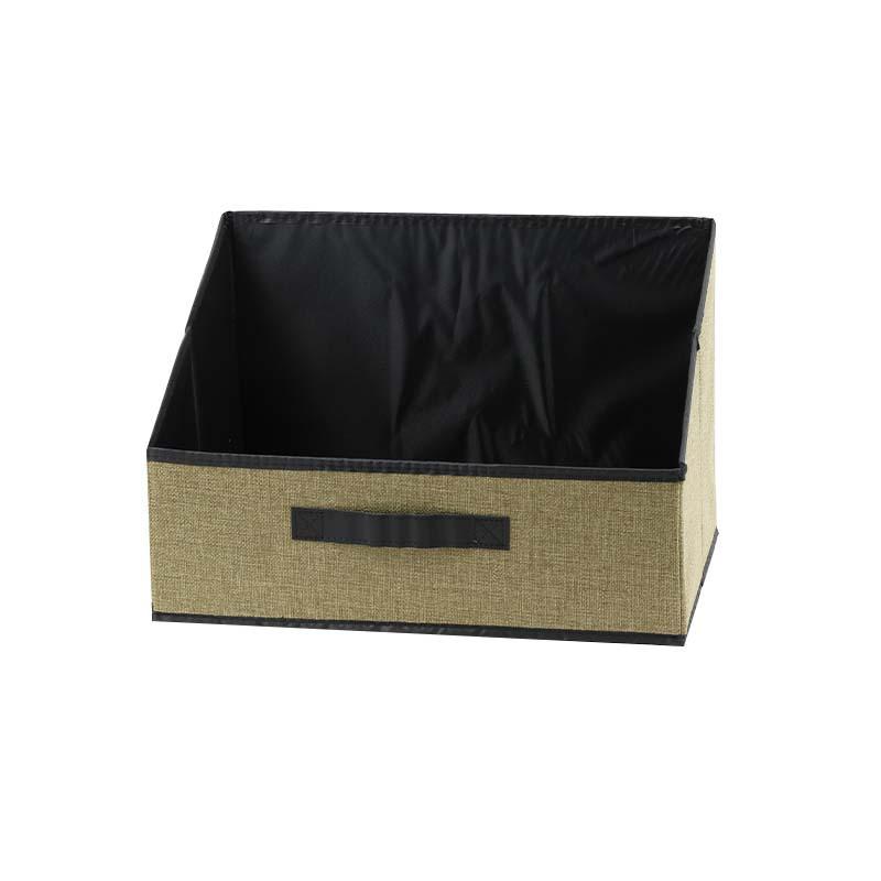 Modern Rustic Cloth Storage Box for Organized Home