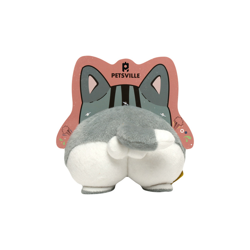 Entertaining Soft Animal Plush Toys for Children and Pets Boredom Relievers