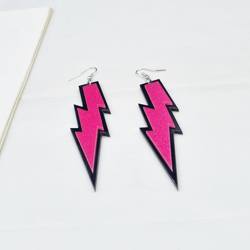 Trendsetting Lightning Earrings For Night Club Wear