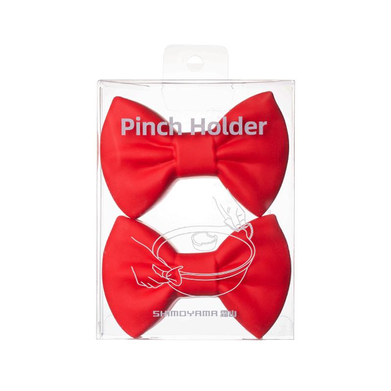 Creative Ribbon Pot Holder for Household Kitchen Essentials