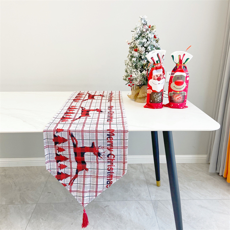Whimsical Christmas Series Table Runner for Wondrous Holiday Season