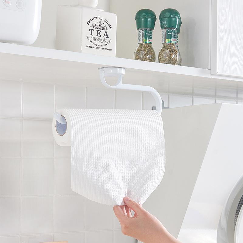 Adhesive Tissue Roll Holder for Organized Kitchen