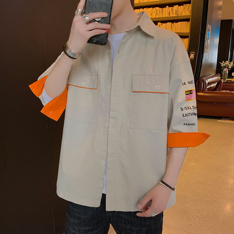 Trendy Pocket Shirt Jacket for Fashionable Young Men