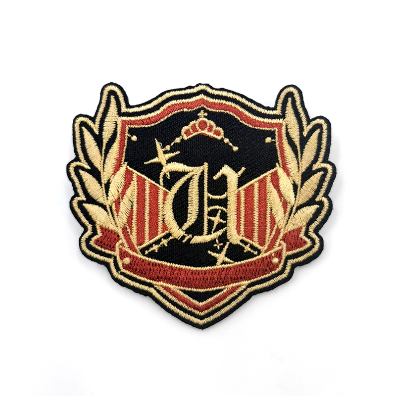 Awesome Embroidered Patch for Bag Additional Design