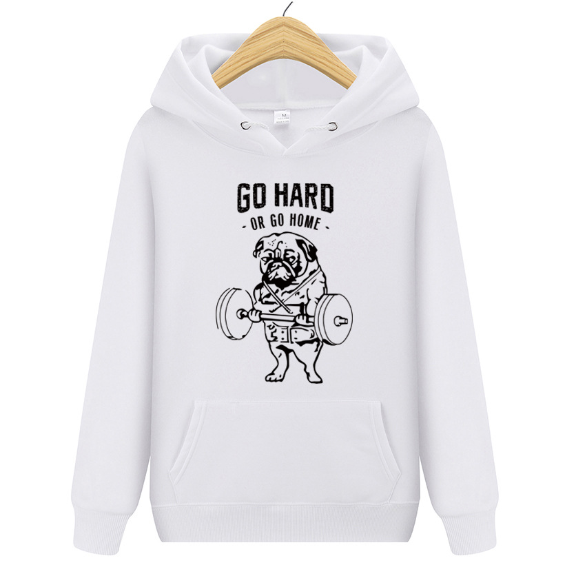 """Motivating """"Go Hard or Go Home"""" Hoodies for Comfy Clothes"""