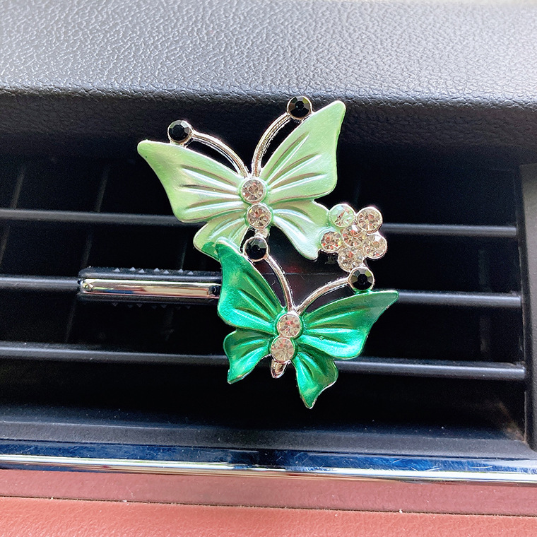 Lovely Butterfly Design Clip for Car Air-Con Nozzle
